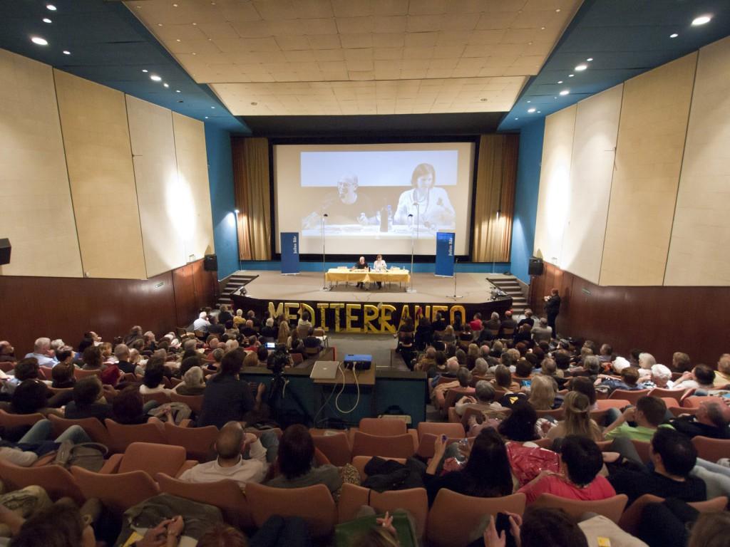 Un momento dell'edizione 2013 al Cinema Lux di Massagno