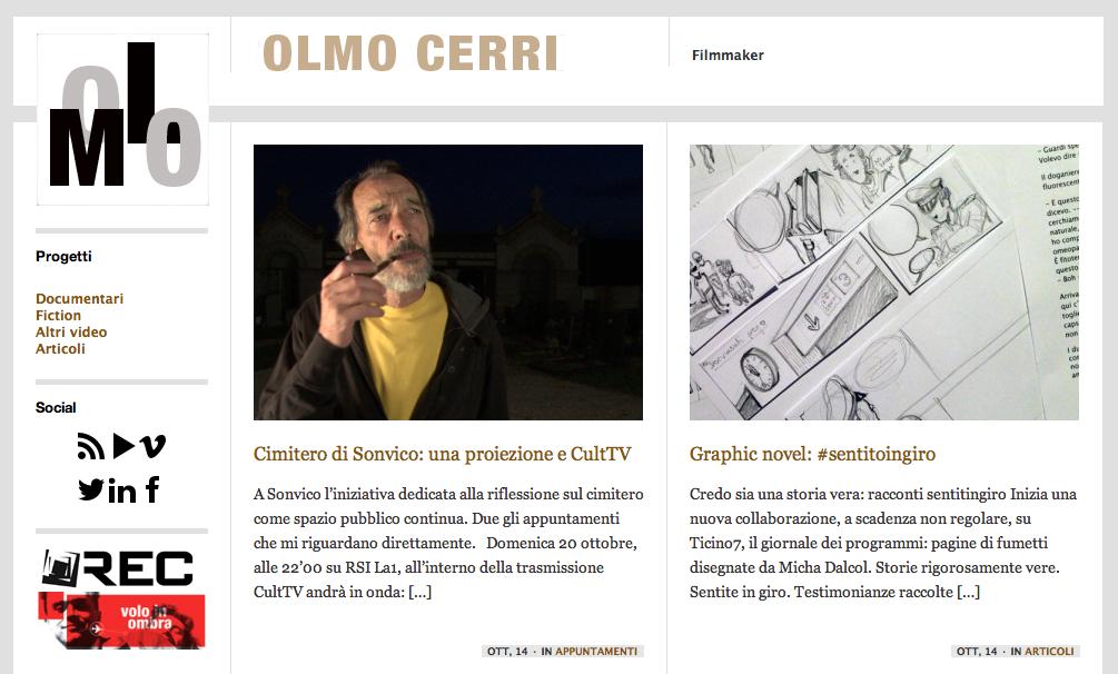 Sito personale di Olmo Cerri